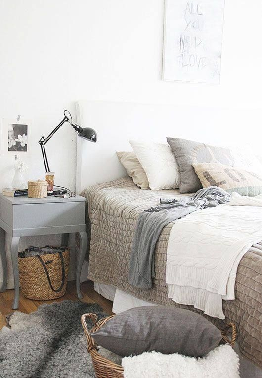 Bedroom Scandinavian Style Home Sweet Home Pinterest