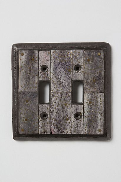 Rustic Looking Light Switch Cover Accents Make All The