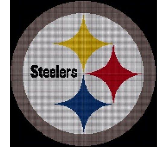 Crochet Pattern Steelers Afghan : Pittsburgh Steelers Crochet Pattern Afghan Graph, USD5.0 ...
