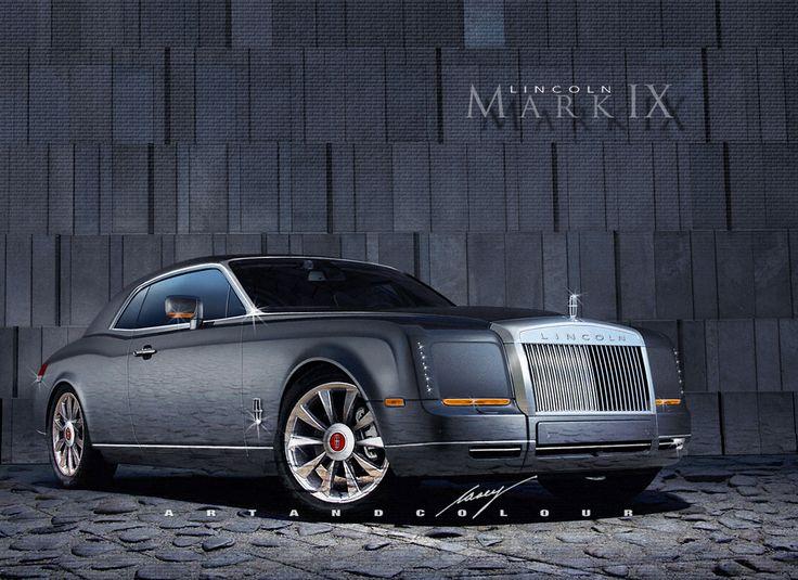 2016 Lincoln Continental Mark IX coupe concept