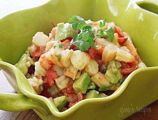 Shrimp Avocado Salad | Salad | Pinterest
