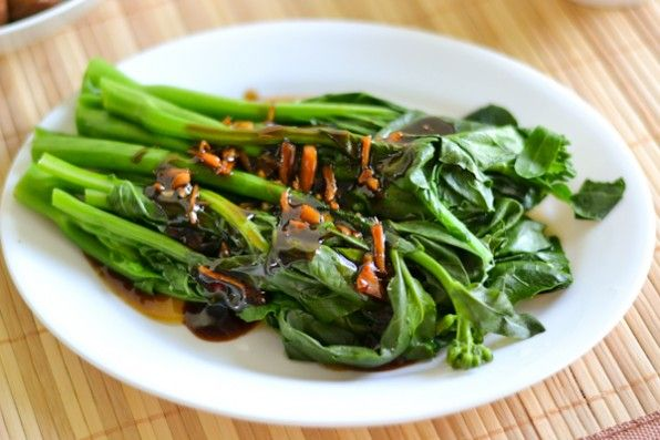 ... garlicy ginger miso recipe chinese broccoli with garlicy ginger miso