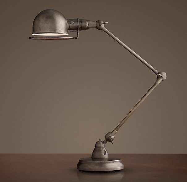 Desk lamps restoration hardware photo for Restoration hardware bedside tables