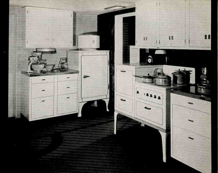 1930s kitchen design pantries for the home pinterest for 1930s style kitchen design