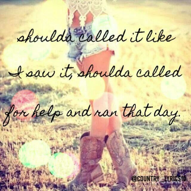 cute country lyric quotes