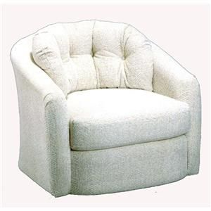 Chairs Swivel Barrel Sanya Swivel Barrel Chair By Best Home