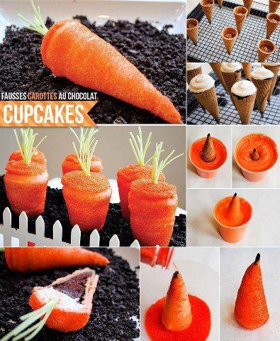Carrot Cupcakes - so simple | Recepten proberen | Pinterest