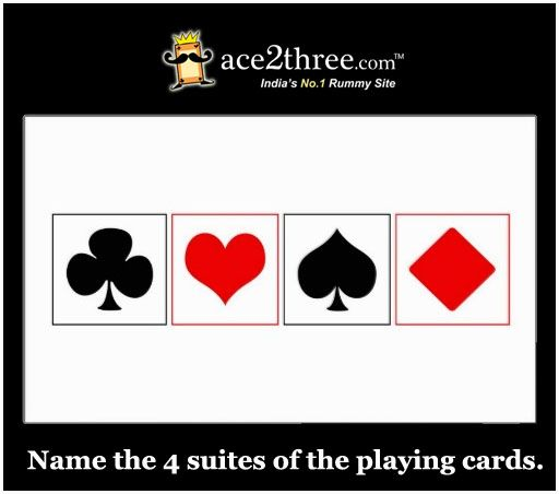 rummy cards names