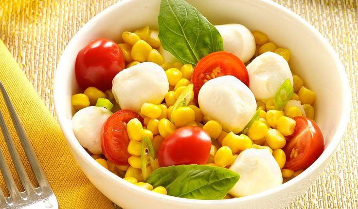 Corn Caprese Salad | Yum | Pinterest