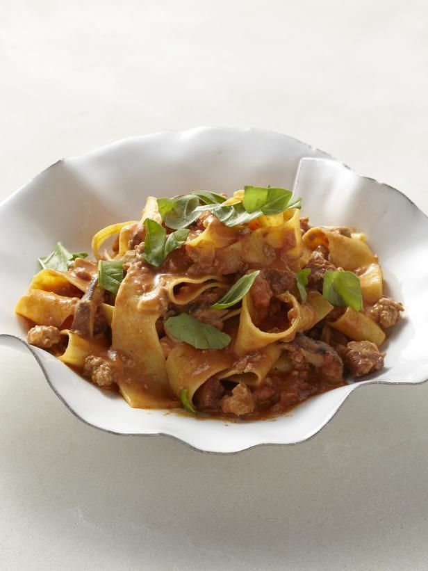 Pappardelle with Veal and Pork Ragu | Recipe