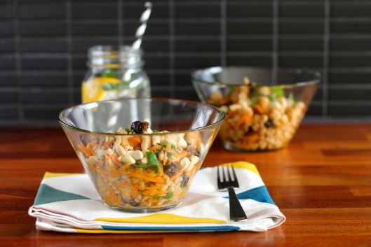 Moroccan carrot and chickpea salad | Salad | Pinterest