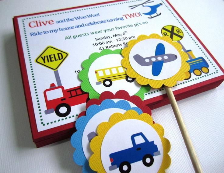 Transportation Vehicle Invitations