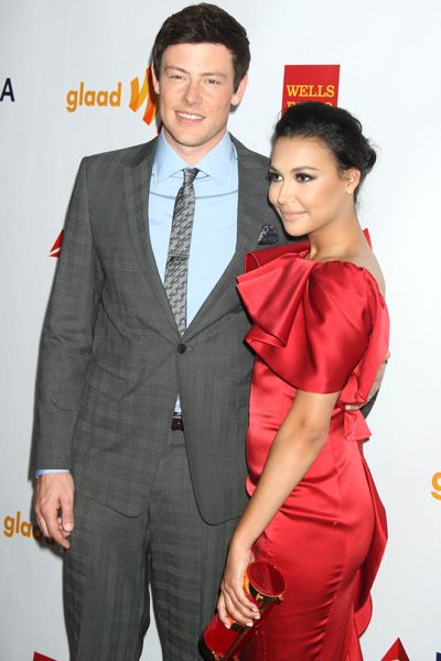 Cory Monteith and Naya Rivera host the 2012 GLAAD Awards