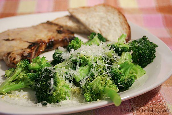Honey Mustard Pork Chops with Lemon Butter Broccoli | www ...