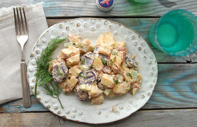 Tri Color Chipotle Bacon Potato Salad | Boulder Locavore