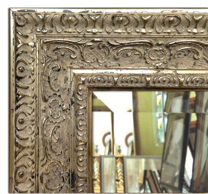 Parisienne Oranate Framed Wall Mirror Vanity Bathroom Mirror Antique