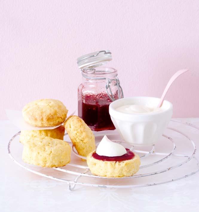 Gluten-free buttermilk scones