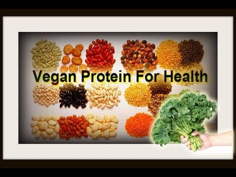 Vegan Protein for Health | Health and Fitness | Pinterest