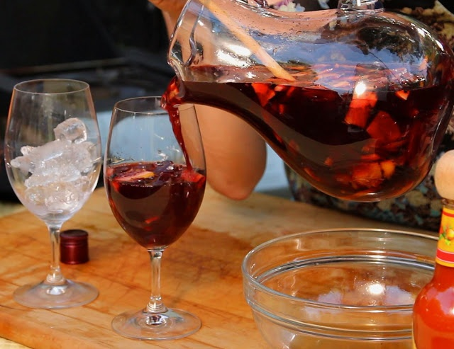Spicy Sangria! | Grown up drinks! | Pinterest