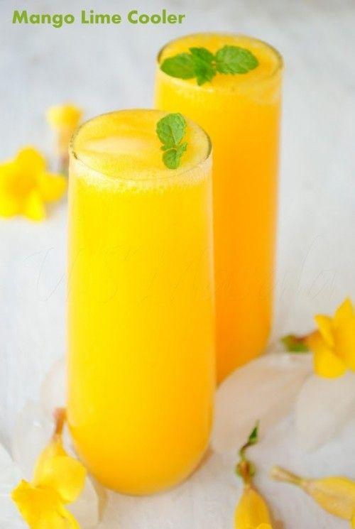 Mango Lime Cooler | Food & Drinks | Pinterest