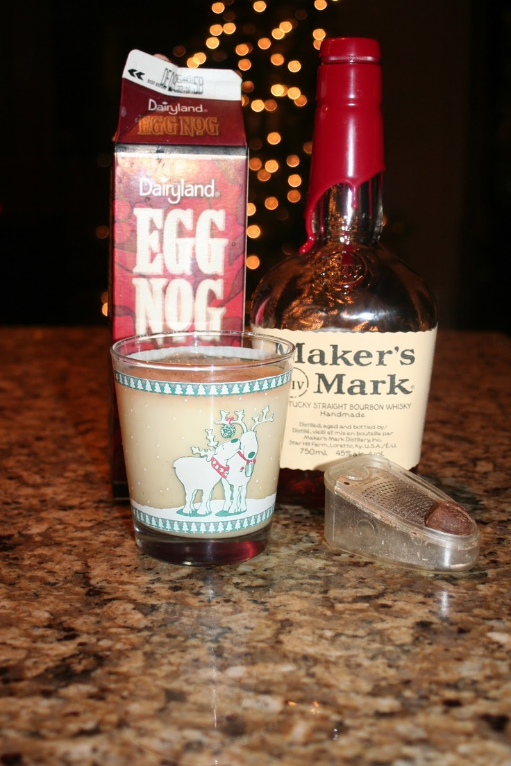 Bourbon Eggnog | January/HAPPY NEW YEAR!! | Pinterest