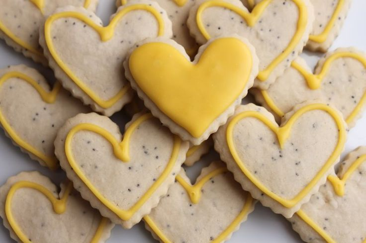 Lemon Poppy Cookies | Cookie Monster | Pinterest
