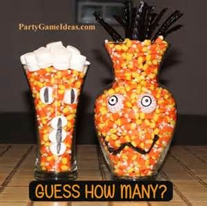 halloween guessing games food