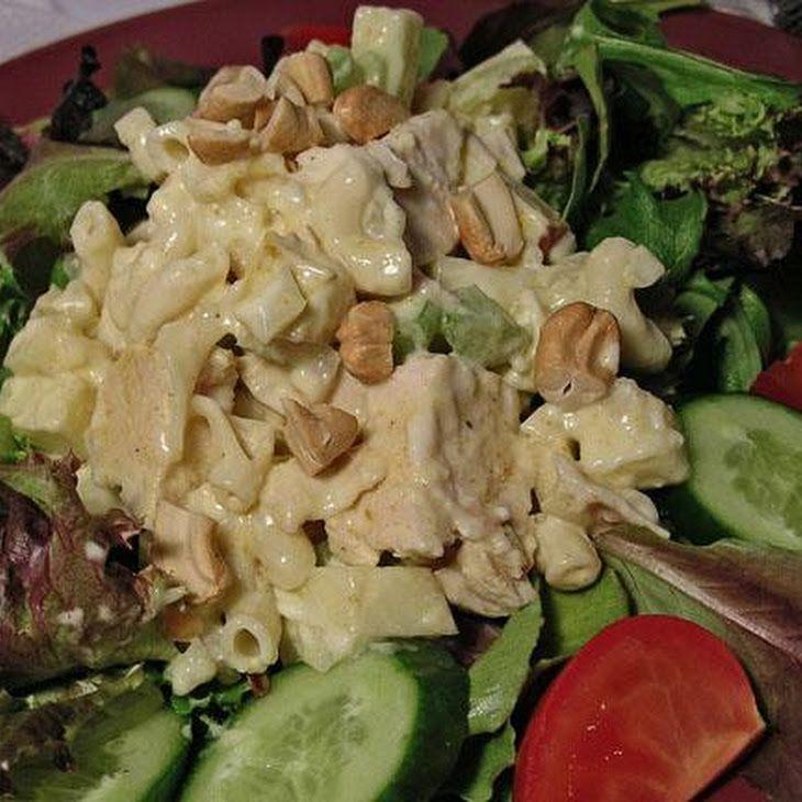 Curried Chicken Pasta Salad Recipe — Dishmaps