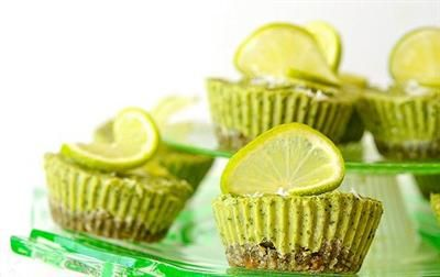 15 Desserts Made With... KALE? Kale and Raw Coconut Lime Tarts with ...