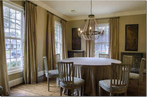 might like the higher curtain rods   Dream Home Decor   Pinterest