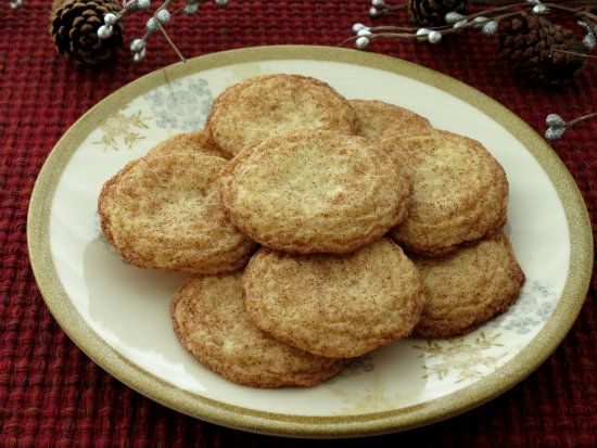 snickerdoodles are easy to make, look lovely, have a light and crisp ...