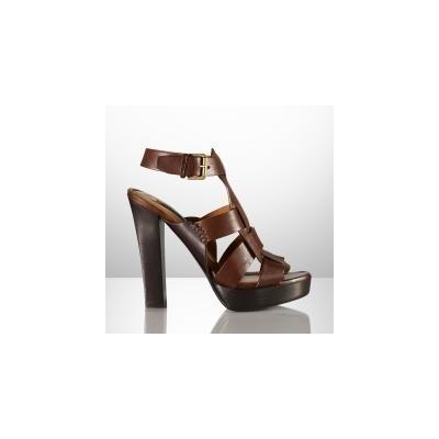 Ralph Lauren Collection Kadence Vachetta Sandal 12247095