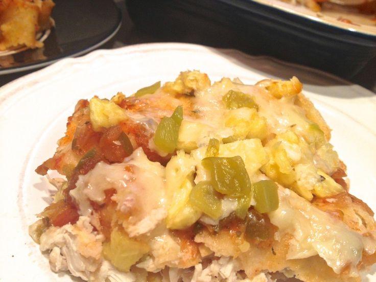 Pineapple Salsa Chicken Enchiladas | Yummy | Pinterest