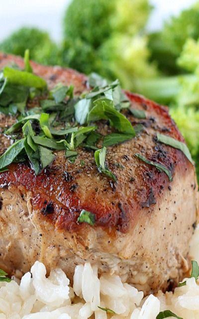 ... garlic herb pork chops garlic herb pork chops salt free garlic herb