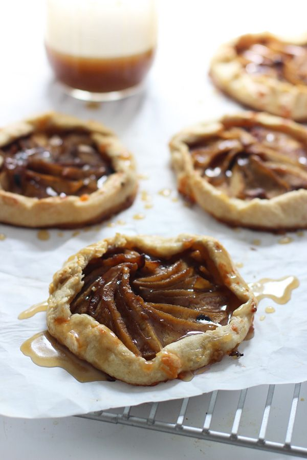 Individual Caramel Apple Galettes with Brown Butter - Cooking for ...