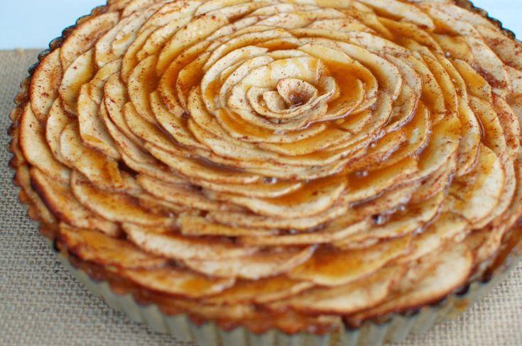 Caramel Apple Cheesecake Tart | Cooking Stuff | Pinterest