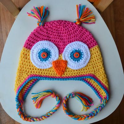 Crochet in Color: Another Owl Hat