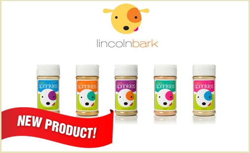 Turn your pup from finicky eater into a Clean Plate Club champion with Lincoln Bark Doggie Sprinkles. These healthy and nutritional supplements were designed to enhance the taste of your pup's food, making each bowl irresistible. Just sprinkle a little over the top of any meal and watch your dog go to town! Available in Shrimp, Salmon, Duck & Pea, Roasted Peanut, and Chicken Liver. $15