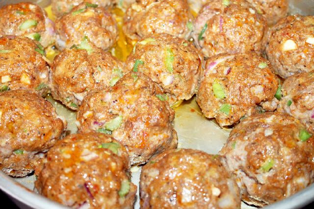 Creole meatballs [with red sauce] recipe | I love to eat! | Pinterest