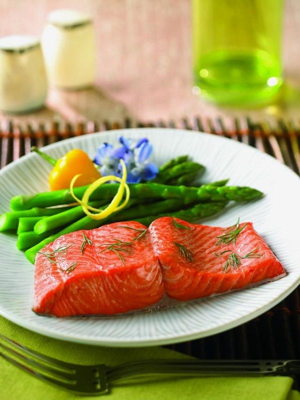 Recipes for Diabetes: Baked Salmon Dijon | So Yummy: Fish! | Pinterest