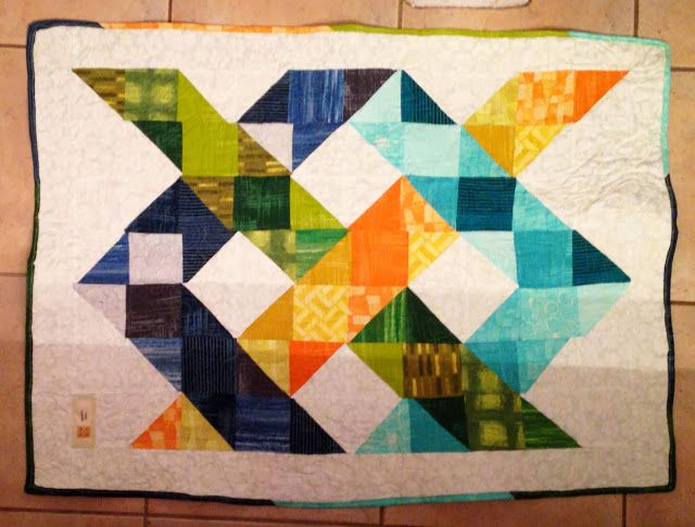 Baby floor quilt with free pattern quilting pinterest for Floor quilt for babies