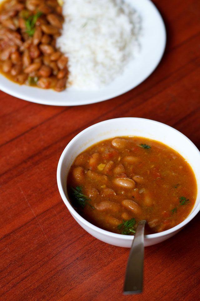 Rajma Masala or rajma chawal is one of the regulars at any punjabi ...