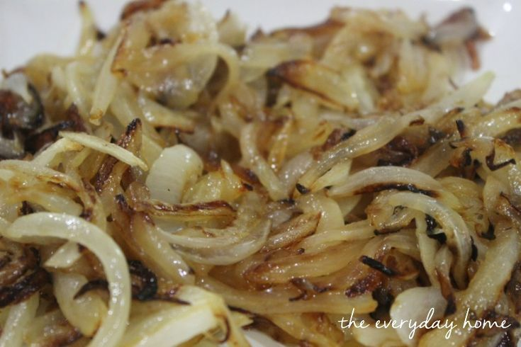 Caramelized Onions-from The Everyday Home