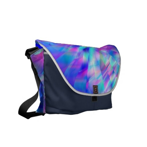 Blue Illusion Travel Bag