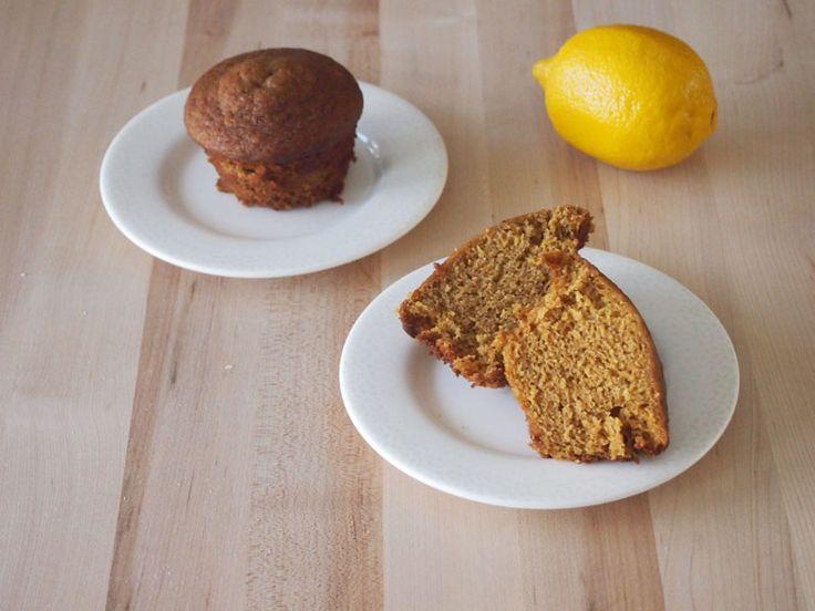 Lemon Gingerbread Muffins #MuffinMonday | Recipe