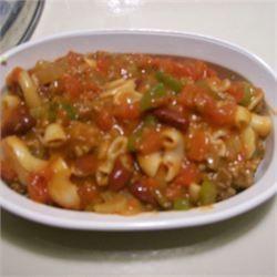 Gramma's Old Fashioned Chili Mac - Allrecipes.com