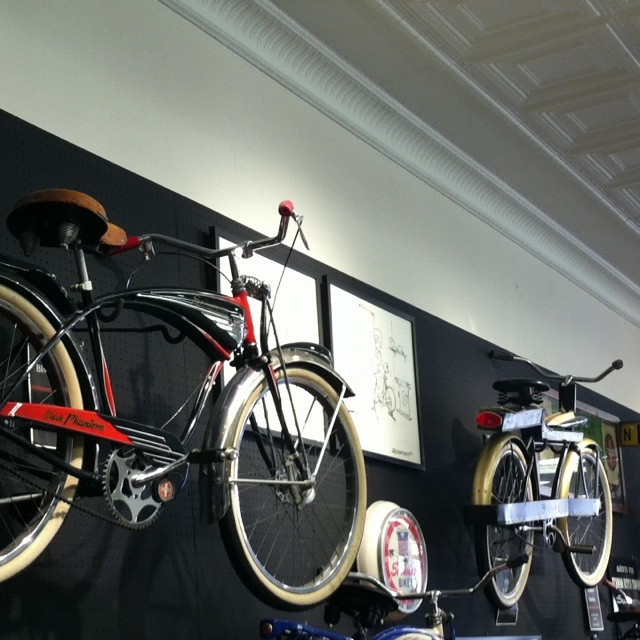 Schwinn Bicycles! At the Bicycle Museum of America in Ohio.