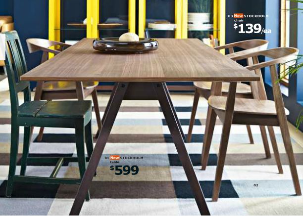 IKEA Stockholm Dining Table : Furniture : Pinterest