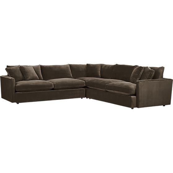 lounge 3 piece sectional sofa