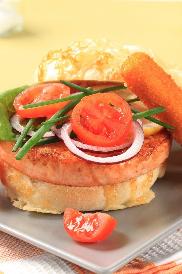 Salmon Burgers | Recipes | Pinterest